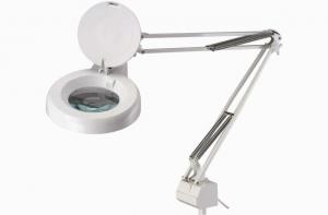 Лампа-лупа LAMP-ZOOM 8066-1С-8D 8 диоптрии ф=5