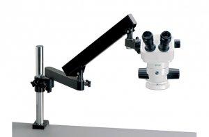 Стереомикроскоп SX45 на шарнирном штативе (articulated arm)